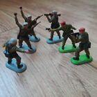 Britains Super Deetail Modern British 4 SAS soldiers + 2 Paras 1978