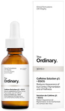 The Ordinary Caffeine Solution 5%25 + EGCG  30ml Reduces Pigmentation Puffiness