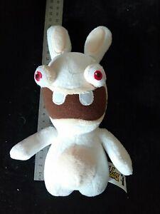 "Ubisoft Raving Rabbids Screaming Bunny Plush White Stuffed Toy 19"" Fiesta"