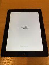 Apple iPad 2 Wi-Fi 3G 32GB Model A1396 Black