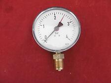 """Manometer 0-4 bar 1/2"""" Anschluss"""