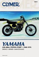 CLYMER MANUAL YAMAHA DT1, DT2, DT3, DT250, DT350, DT400, MX250, MX360 1968-1976