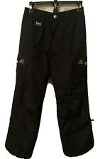 ZEROXPOSUR CARGO GIRLS SKI BLACK SNOW PANTS SIZE 14 Great Condition!