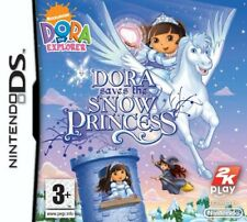 DS Dora the Explorer Dora Saves the Snow Princess  - NintendoDS