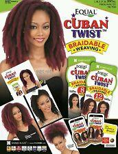 Freetress Equal Synthetic Havana Twist Style Braidable Weave - Cuban Twist Weave