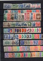 108 timbres France neufs courants avec no 629 moins courant (37euro de cote)