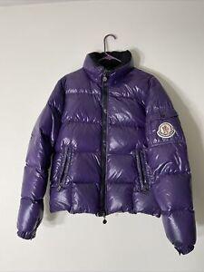 Moncler Men Puffer Jacket size 2 (M) Purple RARE
