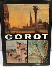 COROT ART BOOK 1973. VERY RARE BOOK.
