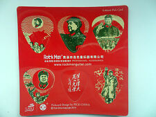 Chairman Mao Tse-Tung   PickCard Collectible Guitar Picks ( 6 picks per card )