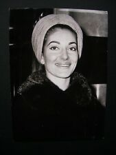 "Maria Callas- Original 1970 Press Agency Photo 6.5 x 5"" Opera Soprano 3"