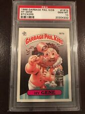 1986 Garbage Pail Kids OS4 Hy Gene Card 161b PSA 9 4th Series 4 PSA 10 Gem 💯
