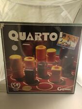 Brand New, Sealed Quarto Board Game 1991 version complete, Gigamic