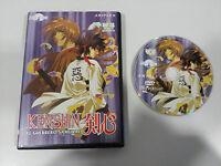 Kenshin Il Guerriero Samurai DVD Vol 28 Cap 83-85 + Extra Manica Selecta Vision