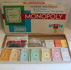 Vintage 1961 Parker Brothers Monopoly Board Game Complete