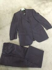 Stylish Mens PAL ZILERI Gruppo For All Navy Blue Suit Made in Italy Size 38 39
