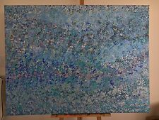 Coral Sea Abstract Painting On Canvas 91.4cm x 121.8cm