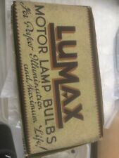 Vintage/classic car Lumax bulbs