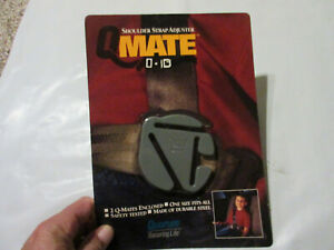 QMATE Child Trend Car Seat Adjuster Metal Clip Strap Back Plate Replacement
