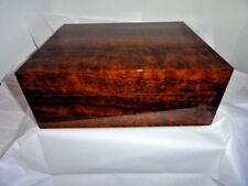 Elie Bleu Imbuya Wood  Humidor 75 Count new in original box