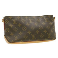 LOUIS VUITTON Monogram Trotteur Shoulder Bag M51240 LV Auth gt324