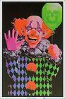 Evil Clown Blacklight Poster 23 x 35