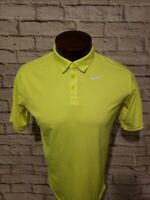 Nike Dri Fit Mens XL Extra Large Meon Green Short Sleeve Golf Polo Shirt NWOT...