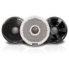 "FUSION FR6022 6"" Round 2-Way IPX65 Marine Speakers - 200W - Pair w/3 Speaker Gri"
