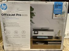 HP - OfficeJet Pro 8035 Wireless All-In-One Printer GREY