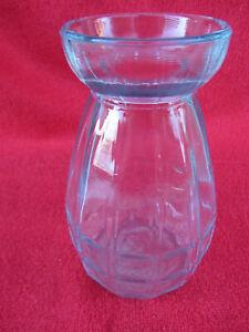 Ancien pot jacinthe vase à bulbe verre