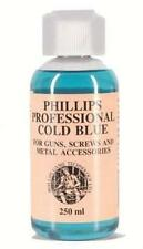 PHILLIPS PROFESSIONAL COLD BLUE GUN BLUING 250ML REPAIR MAINTAINENCE  295