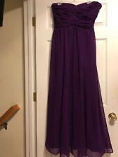 NWOT LAUREN RALPH LAUREN EVENING Purple Formal Dress Size 10