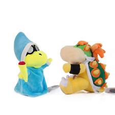 Super Mario Bros. Magikoopa Kamek & Bowser Jr. Koopa Stuffed Plush Figure Toy