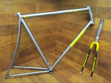 LITESPEED TUSCANY TITANIUM TI ROAD BIKE FRAME SET 59 CM LOOK CARBON FORK
