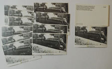 (37)  MONPELIER OH Ohio   N&W  LOCO # 611   Old Antique Vintage  Postcards  LOT