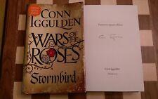 Wars of the Roses Stormbird EXCLUSIVE SIGNED Conn Iggulden Hardback 2013 1st/1st