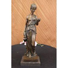 SUPER DEALMilo Roman Maiden Bronze Sculpture NR Statue Art Figurine SALE
