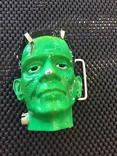 Universal Monsters Frankenstein Painted 3-D Belt Buckle Cracked Chipped