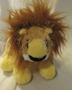 GANZ Webkinz LilKinz Plush Lion no code Yellow Brown