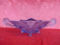 Bella, vecchio, Grande Ciotola di Vetro __ Art Deco __ Veriert, Blauschimmer __