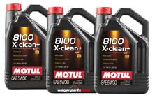5x5 litros original Motul 106377 8100 X-clean 5w30 aceite VW BMW Porsche