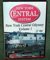 20307 DVD NEW YORK CENTRAL ODYSSEY VOL. 1  EMERY GULASH REMASTERED