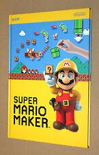 Super Mario Maker Rare Promo Notebook Nintendo Wii U 3DS