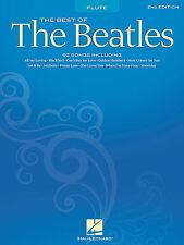 BEST OF THE BEATLES FLUTE SHEET MUSIC SONG BOOK NEW