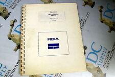 FIDIA CNC MEASUREMENT CYCLE USER'S MANUAL