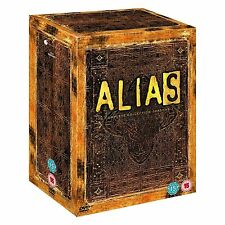 """ALIAS COMPLETE SERIES COLLECTION 1-5 BOX SET 30 DISCS R4 """"NEW&SEALED"""""""