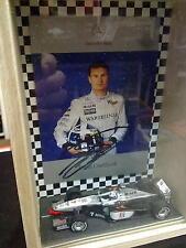 Minichamps McLaren Mercedes MP4/13 1998 1:43 #7 David Coulthard + Card + vitrine