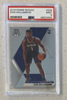 Zion Williamson RC Rookie 2019 Panini Mosaic #209 PSA 9 MINT