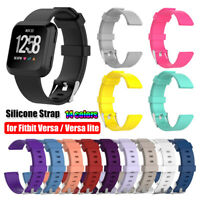 Watch Band Replacement Silicone Wrist Strap For Fitbit Versa / Versa Lite