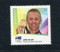 2016 Jared Tallent - Gold Medallist 2012 London Olympic Games - MUH $1 Stamp