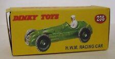 Repro box DINKY Nº 235 h.w.m. racing car